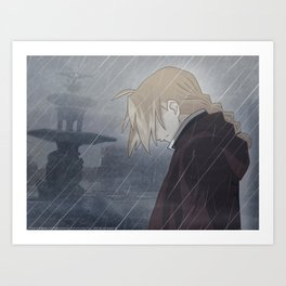 Fullmetal Alchemist Brotherhood Art Print