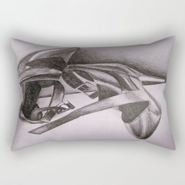 Calvin Klein Black Heels Rectangular Pillow