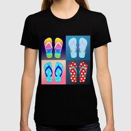 Flip Flop Pop Art T-shirt