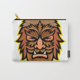Circus Wolfman or Wolfboy Mascot Carry-All Pouch