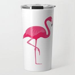 Flamingo time Travel Mug