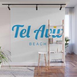 TEL AVIV BEACH Wall Mural