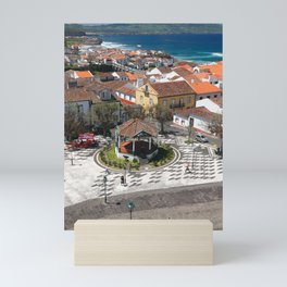 City in Azores islands Mini Art Print