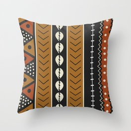 Black And Red Throw Pillows | Society6