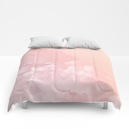 COTTON CANDY PASTEL CLOUDS Comforters