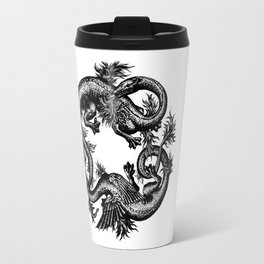Salamander and Dragon Travel Mug