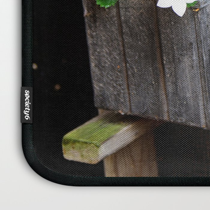 Clogs and te flowers Laptop Sleeve