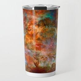 Mystic Mountains - Carina Nebula Astronomy Image Travel Mug