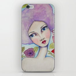 SASS Girl - Lucy - SASS = Strong and Super Smart iPhone Skin