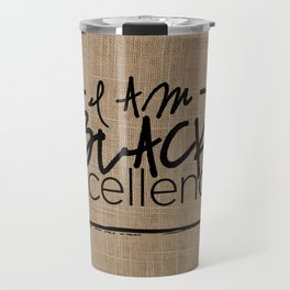 I AM BLACK EXCELLENCE Travel Mug