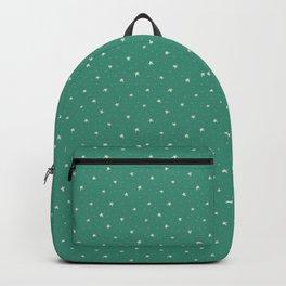 Christmas Stars - Green Backpack