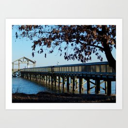 Leesylvania Pier Art Print