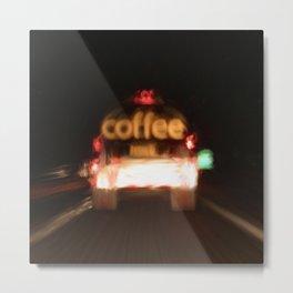 C - Coffee Tanker Metal Print