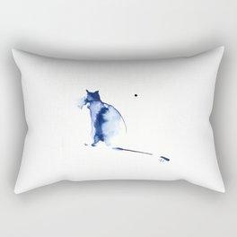 Dinamic Cat Rectangular Pillow