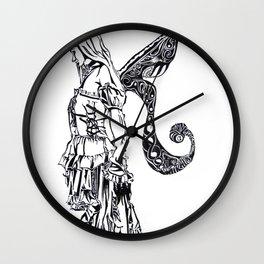 Fairy Fragments Wall Clock