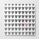 HEARTS ALL OVER PATTERN I by characterassassination