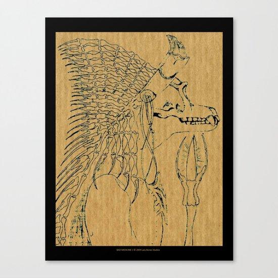 Bad Medicine 1 Canvas Print