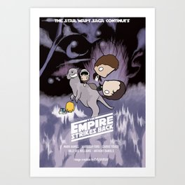 Empire strikes out Art Print