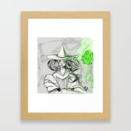Electric Which Framed Art Print