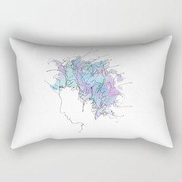 Bob Dylan/Watercolor Rectangular Pillow
