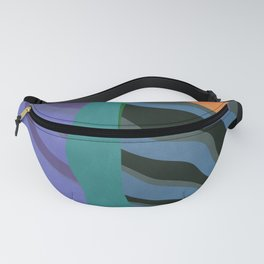 Crepuscular Streams Fanny Pack