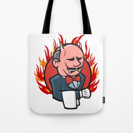 Jenkins on Fire Tote Bag
