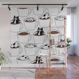More Coffee French Bulldog Wall Mural