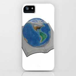 The World in Pages iPhone Case