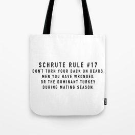 Rule 17 Tote Bag