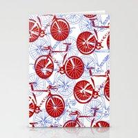 bikes Stationery Cards featuring Bikes by StephanieTara