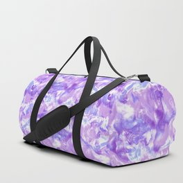 Marble Mist Lilac Duffle Bag