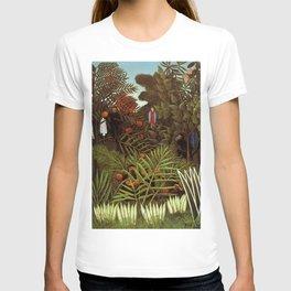 """Henri Rousseau """"Exotic landscape"""", 1908 T-shirt"""
