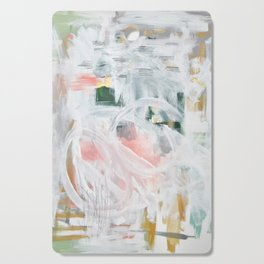 Emerging Abstact Cutting Board