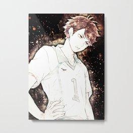 Haikyuu Oikawa Tooru Metal Print