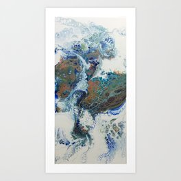 Other Worlds II Art Print