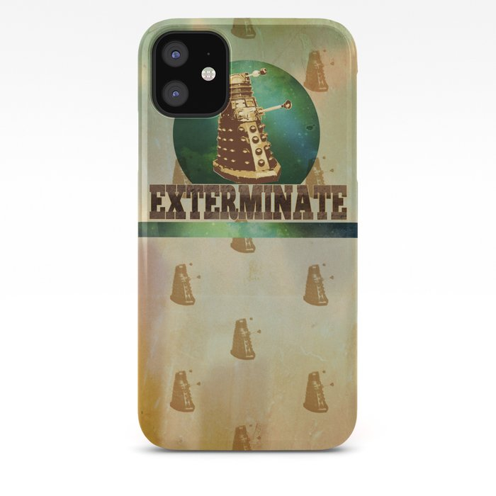 Doctor Who Dalek Exterminater iphone case