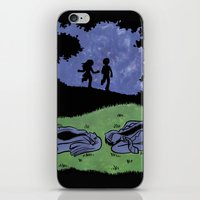 suits iPhone & iPod Skins featuring Adult Suits by Laura Lee Gulledge