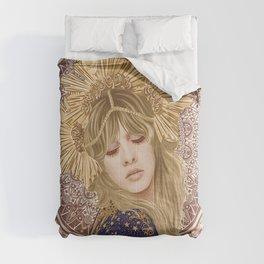 Stevie Nicks Poster, Fleet-wood Mac Poster, Wall Decor, Home Decor, Custom Poster, Custom Art, Living Room Decor, Hand Rock, Work Art Comforters