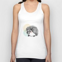 hedgehog Tank Tops featuring Hedgehog by Wood + Ink