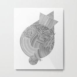 Closure Metal Print