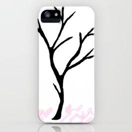 Lifeless tree... iPhone Case