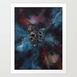"Surreal space art, ""Ultima Thule"" Art Print"