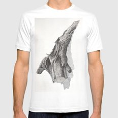 Fallen Tree Mens Fitted Tee White MEDIUM