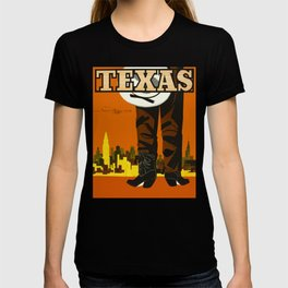 Vintage Texas Travel Poster T-shirt