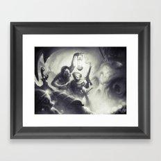 The Intruders Framed Art Print