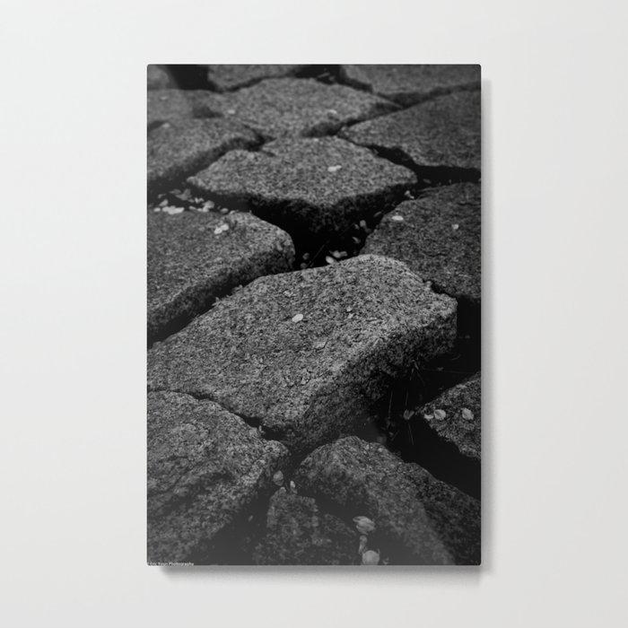 Cobbled Steps Metal Print