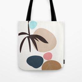 The Present - zen garden colorful stones Tote Bag
