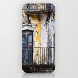 Urban Sicilian Facade iPhone Case