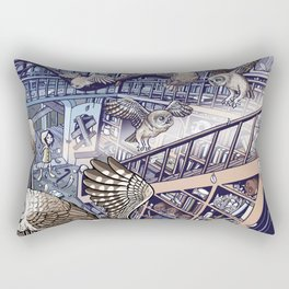 The Abandoned House Rectangular Pillow