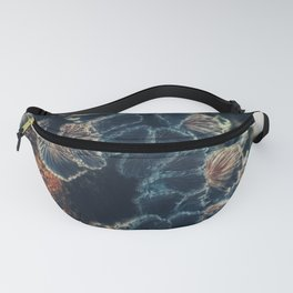 Tree Fungus Branch Vertical Fanny Pack